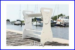 #1 Quality Fishing Rod Rack Fish Hook- Waterproof! WASH Your RODS ON The Ra