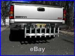 8 POLE HITCH MOUNTED ALUMINUM FISHING ROD HOLDER / RACK Made in USA