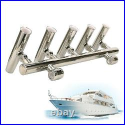 Adjustable Rod Rack Pod Silver Size 1 to 1-1/4 Stainless Steel Rod Holders
