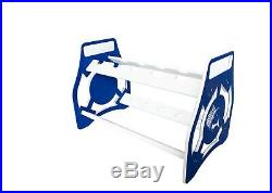 Bent Butt Fishing Rod Stand/rack Marlin Cut Out Design Made Of King Starboard