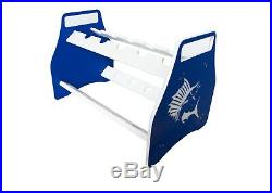 Bent Butt Fishing Rod Stand/rack Sailfish Design Made From King Starboard