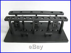 Big Game Rod Rack for 17 Big Game Rods Plus a 5 Curved Butt Rod Holder / Polymer
