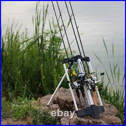 Castek Rod Caddy Portable Fishing Rod Rack and Carrier for Freshwater Spinning R