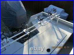 Driftmaster Boat Rod Rack, 86 1/2 wide X 12 high, with all hardware