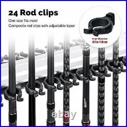 Goture Fishing Rod Rack Fishing Rod Holder Fishing Pole Stand for Any Type of Ro