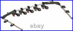 INNO IF1 J-Hook Internal Overhead Fishing Rod Rack Holds 5 Rods