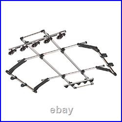 INNO IF7 Dual Hold Internal Overhead Fishing Rod Rack Holds 8 Rods Chrome