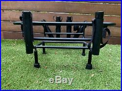 Jet Ski 6 Rod Holder Fishing Cooler Rack with Side Plates for RotoPax Fuel Cans
