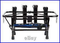 Jet Ski Fishing Rack 4 Rod Holders with Gas Plates Universal
