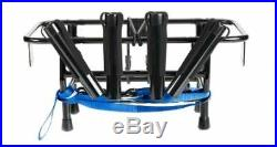 Jet Ski Fishing Rack 4-X Rod Holders with Gas Plates Universal