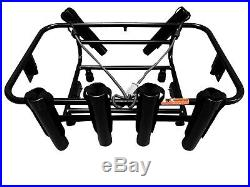 Jet Ski Fishing Rack 6 Rod Holders with Gas Plates LinQ System