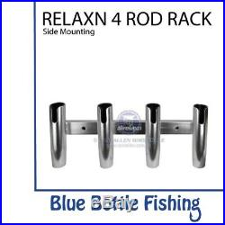 NEW RELAXN 4 Rod Rack SIDE MOUNTING from Blue Bottle Marine