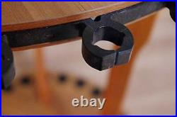 Old Cedar Outfitters Spinning Floor Rack for Fishing Rod Storage, Holds up to 24