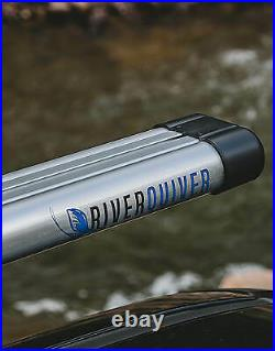 RiverSmith River Quiver 2 Banger Silver Rooftop Fly Rod Rack For car and truck