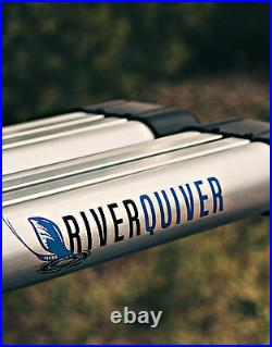 RiverSmith River Quiver 4 Banger Silver Rooftop Fly Rod Rack For car and truck