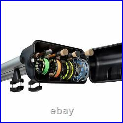 Riversmith River Quiver 4 Banger EXTENDED 11'4 Silver Rooftop Fly rod Rack