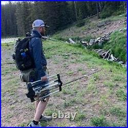 Rod Caddy Portable Fishing Rod Rack and Carrier for Freshwater Spinning Rods