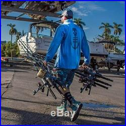 Rod-Runner Fishing Carrier Pro 5 Portable Rack Sports & Outdoors
