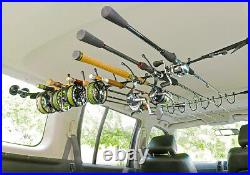 SMITH CREEK ROD RACK SYSTEM spin and fly fishing rod holder vehicle interior