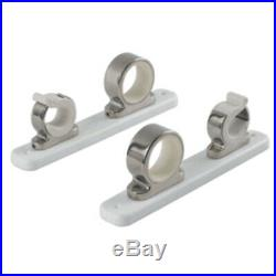 TACO 2-Rod Hanger withPoly Rack Polished Stainless Steel