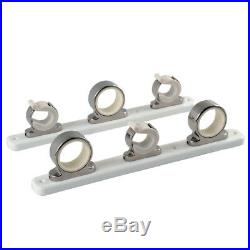 TACO 3-Rod Hanger withPoly Rack Polished Stainless Steel