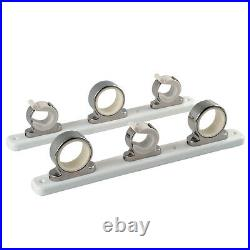 TACO 3-Rod Hanger withPoly Rack Polished Stainless Steel model F16-2753-1