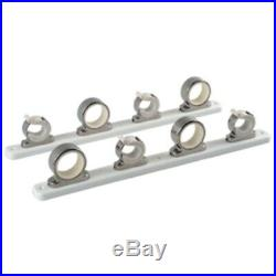 TACO 4-Rod Hanger withPoly Rack Polished Stainless Steel