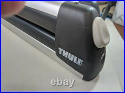 THULE Flat Top Ski Rack #725, Horizontal, Holds 6 Pairs, Clamp-On, New, Open Box