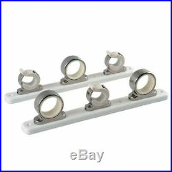 Taco 3 Rod Hanger Withpoly Rack Polished Ss F16-2753-1
