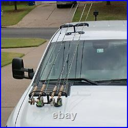 Tight Line Enterprises Magnetic Fishing Rod Racks for Vehicle Truck or SUV wi