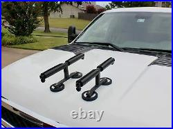 Tight Line Enterprises Magnetic Fishing Rod Racks for Vehicles for Hood and Roof