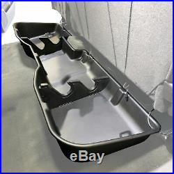 Underseat Storage Box fits Chevy Silverado 07-18 Includes Dividers Crew Cab Only