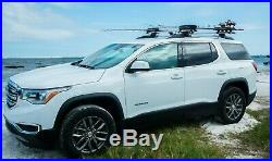 Up-Right Fishing Rod Roof Rack Transportation System by GearRAK