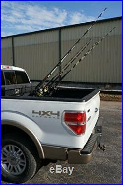 Viking Solutions Fixed Truck Bed Fishing Rod Rack, Multicolor