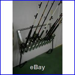 Viking Solutions Truck and Wall Aluminum Fishing Rod Rack