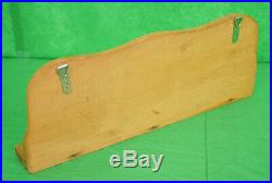 Vintage Wooden Fly Fishing (5) Rod Rack